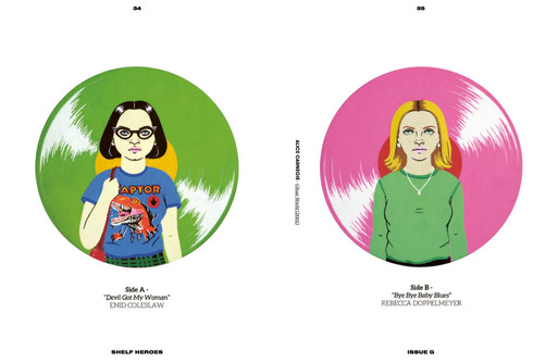 Ghost World for Shelf Heroes Issue G