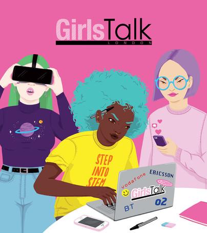 Girls Talk London Flyer