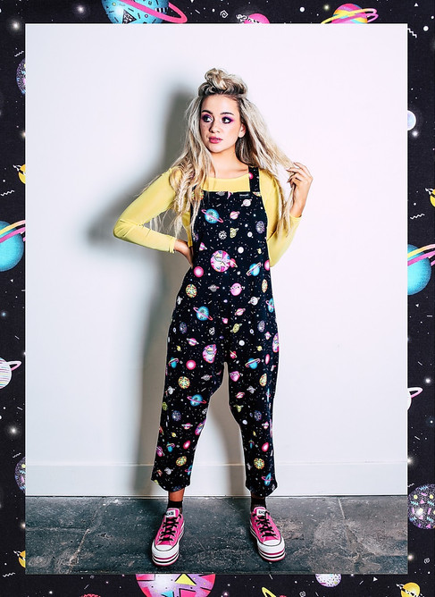 Planet Dreamland dungarees