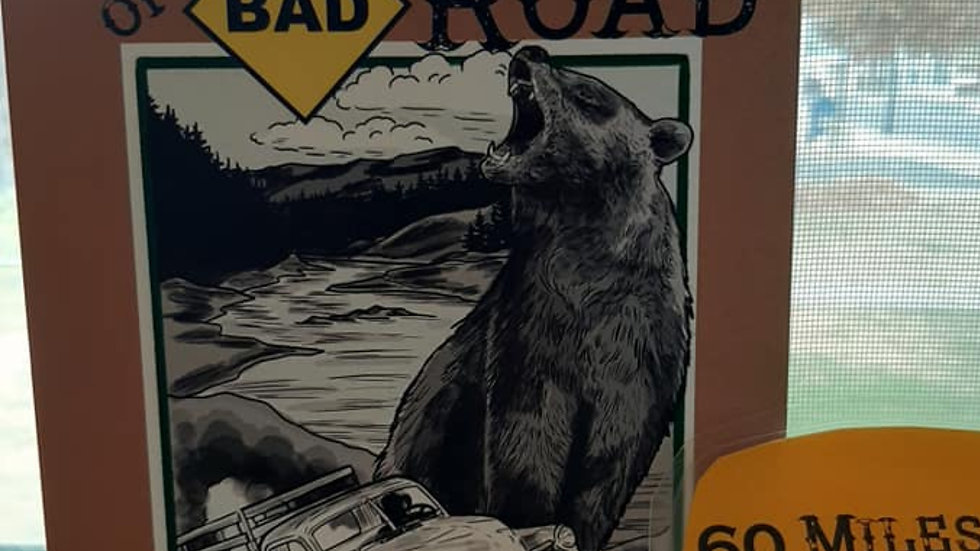 60 Miles of Bad Road (Stories & Recipes)