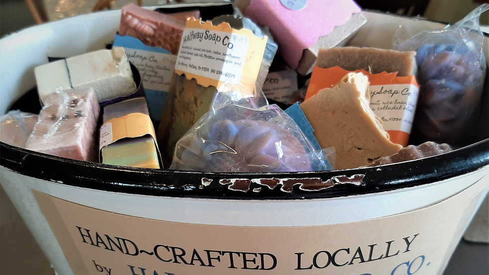 Handmade Soap - Scented & colored