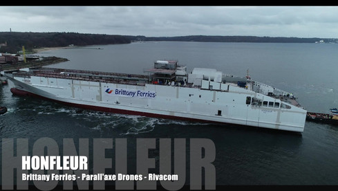 Honfleur Brittany Ferries