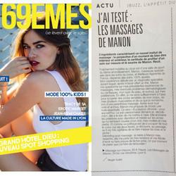 Dans le magazine Les 69EMES !