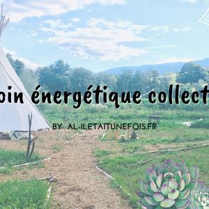 Soin énergétique collectif en plein air