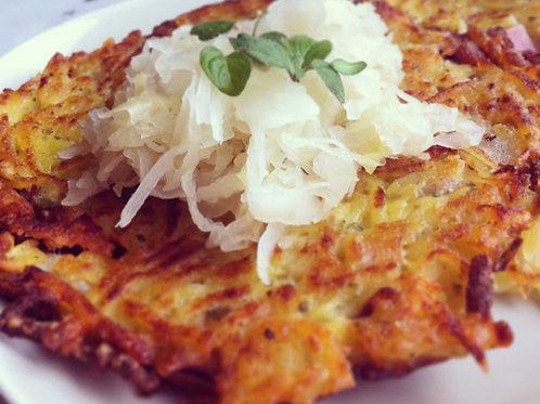 Bramboracky (potato rosti)