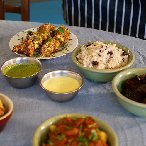 Tandoori meal [Vegetarian/Vegan]