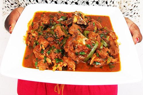 Kenyan meal [chicken]