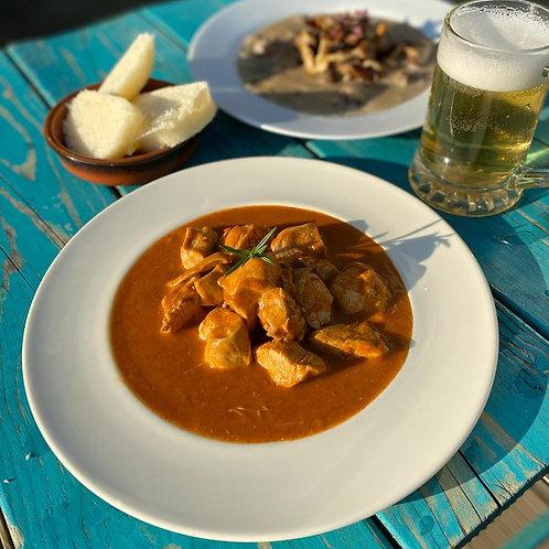 Czech meal [chicken option]
