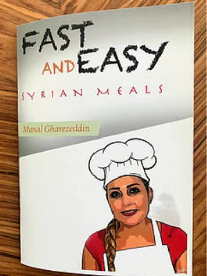Syrian Meals Cookbook by Manal Gharezeddin