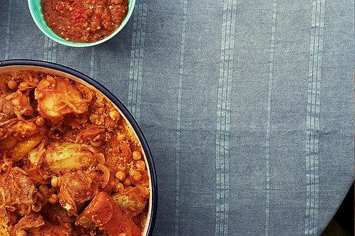Libyan meal (vegan)
