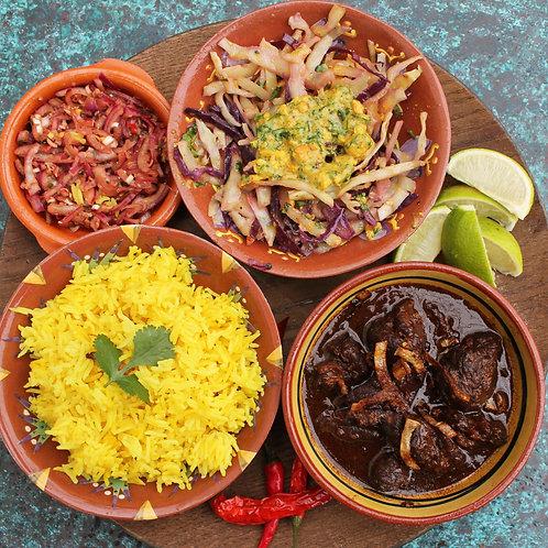 Balinese meal [pork option]