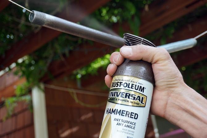 Большой гид по покраске стальных труб от Home Loft Studio. ЧАСТЬ 3 Нанесение краски.