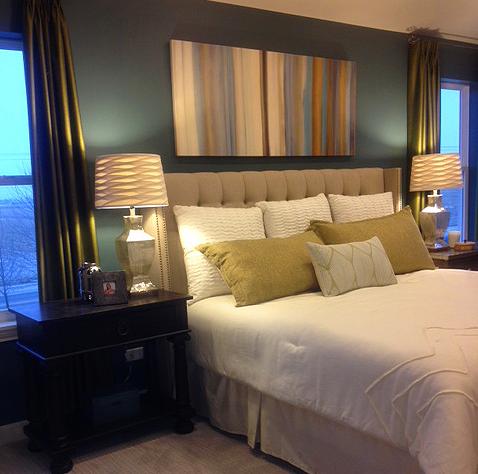 Model Home Master Bedroom