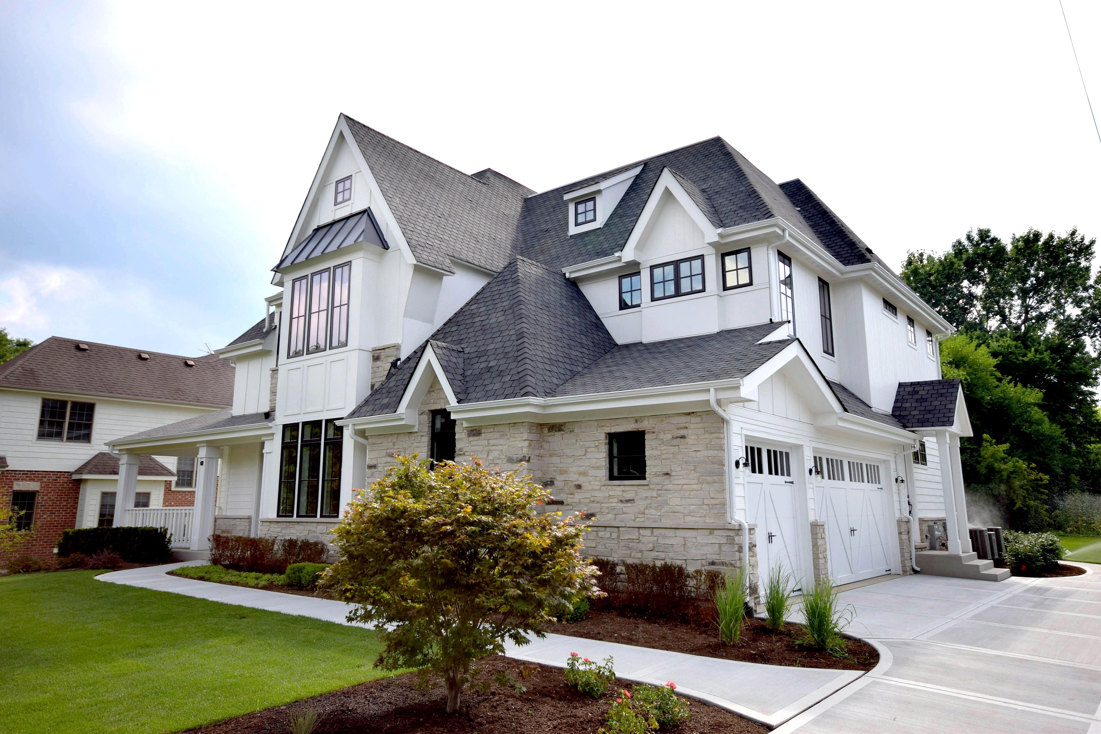Hinsdale Custom Home Exterior