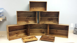 Wooden Wine Crate Collection