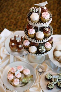 Lovebird Cupcake Tower