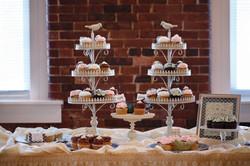 Lovebird cupcake collection