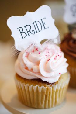 The Bride's cupcake!