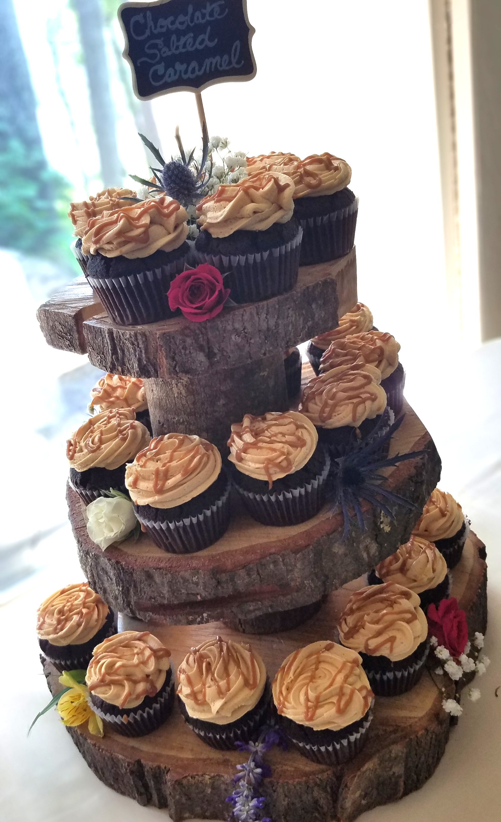 Short Tree Cupcake Tower