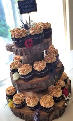 Short Tree Cupcake Tower
