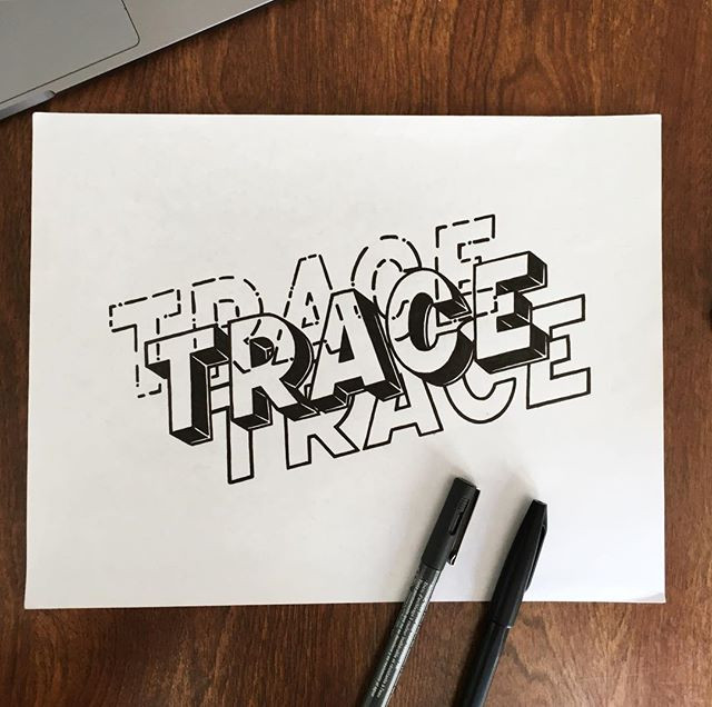 Trace, it's the only way to get that cle