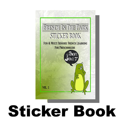 10 Additional Sticker Books