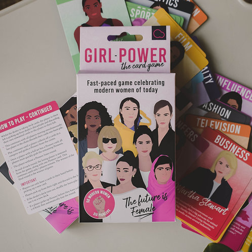 Girl Power The Card Game
