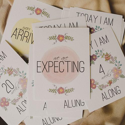 Pregnancy Milestone Cards