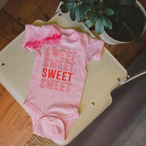 Sweet x4 Onesie
