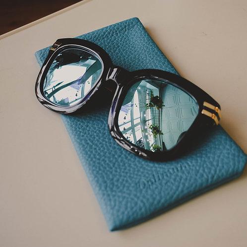 Blue Reflected Sunglasses
