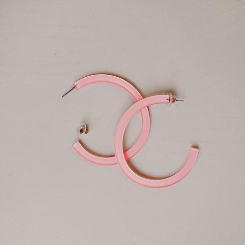 2 Tone Acrylic Hoops