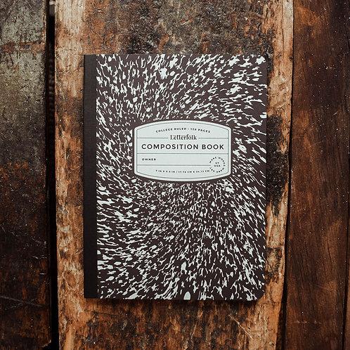 Retro Composition Notebook