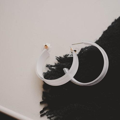 Acrylic Mini Hoops