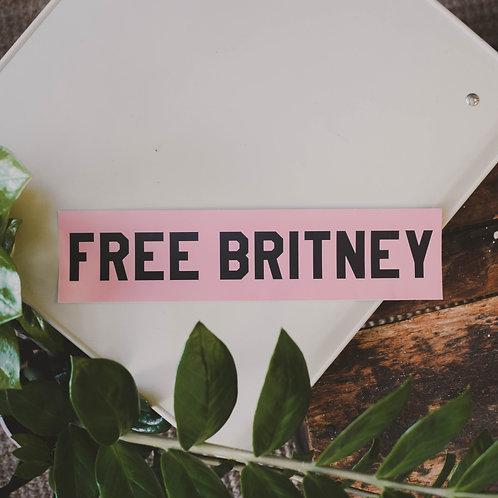 Britney Sticker