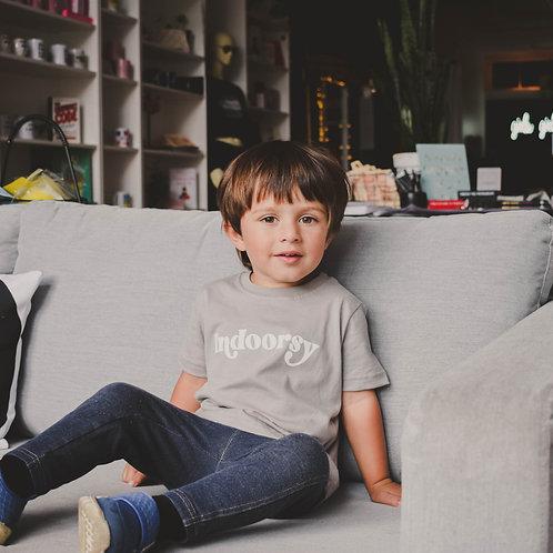 Indoorsy Kids Tee