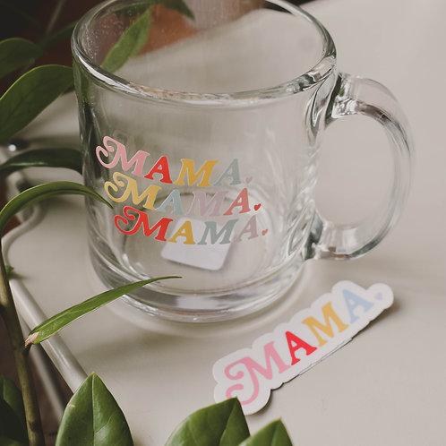 Mama Clear Mug