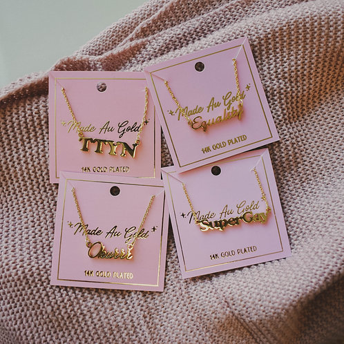 Made Au Gold Necklaces