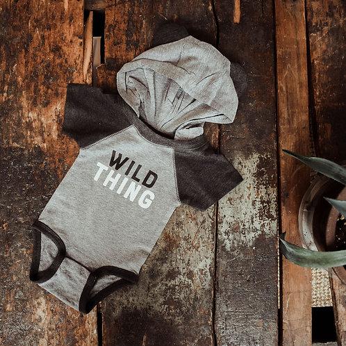 Wild Thing Hooded Onesie