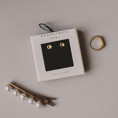 Secret Box 14k Gold Filled Studs