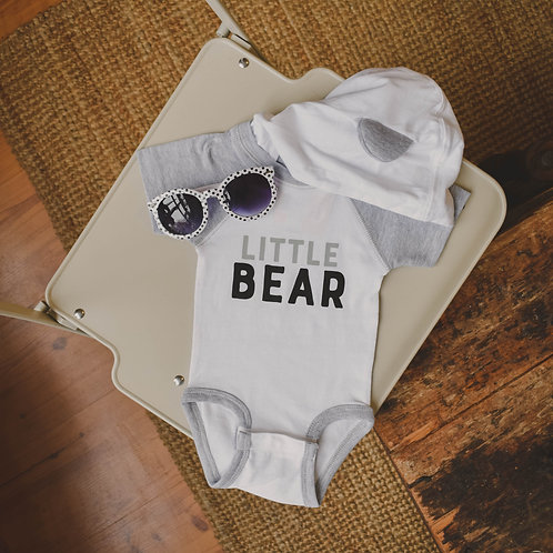Little Bear Onesie with hood