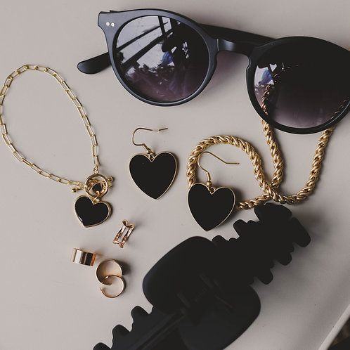 Enamel Heart Bracelets