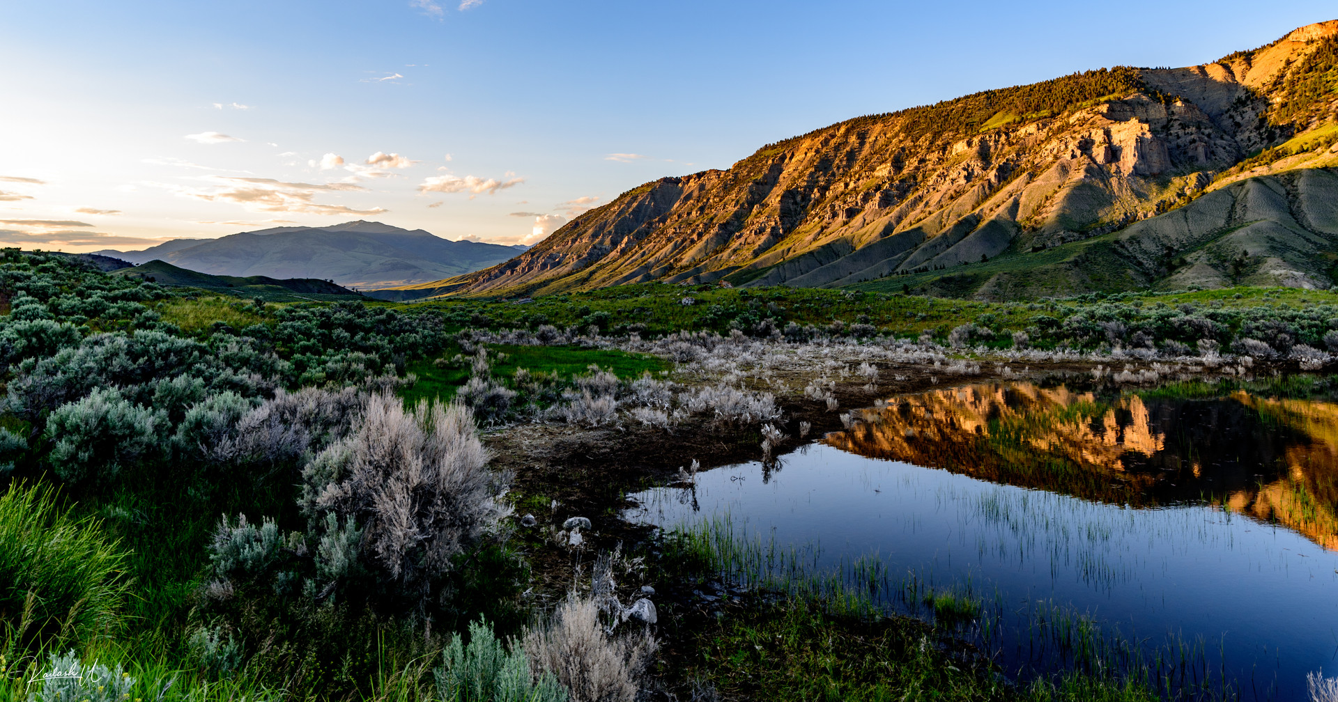 The Ultimate Reflection, Yellowstone