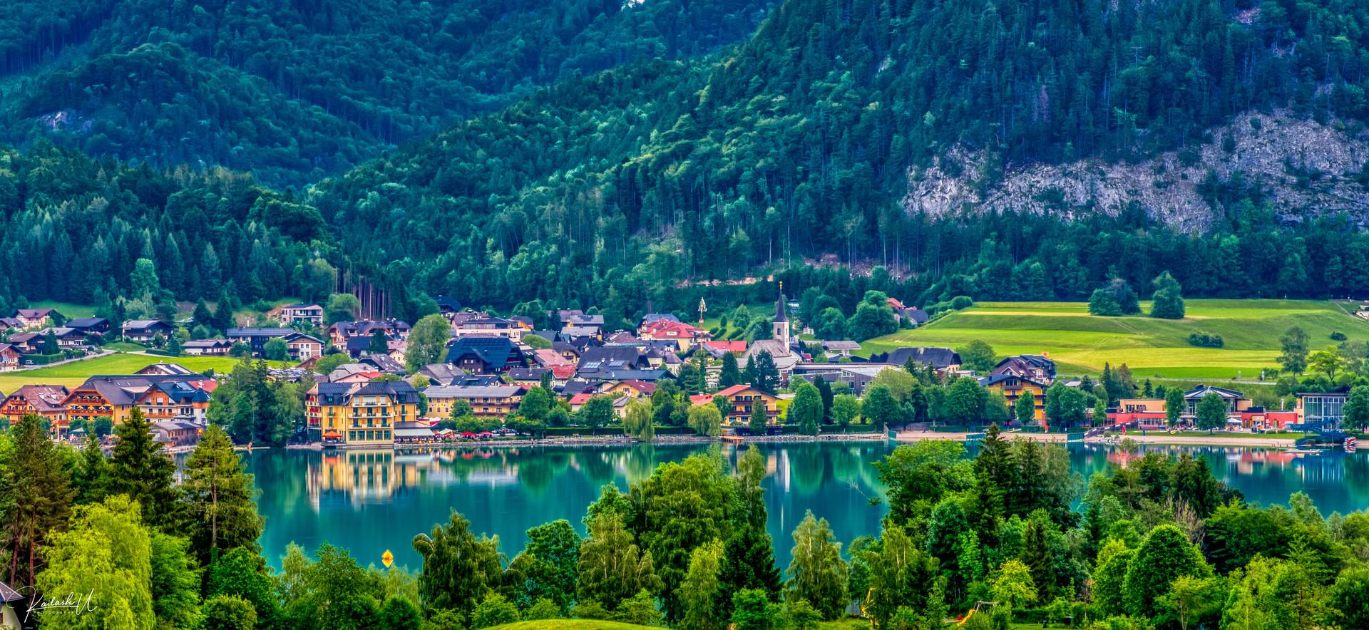 Lake Fuschl, Austria