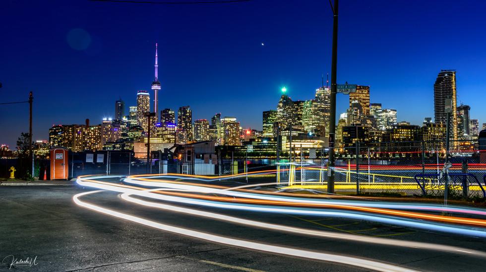 Car trails, Toronto