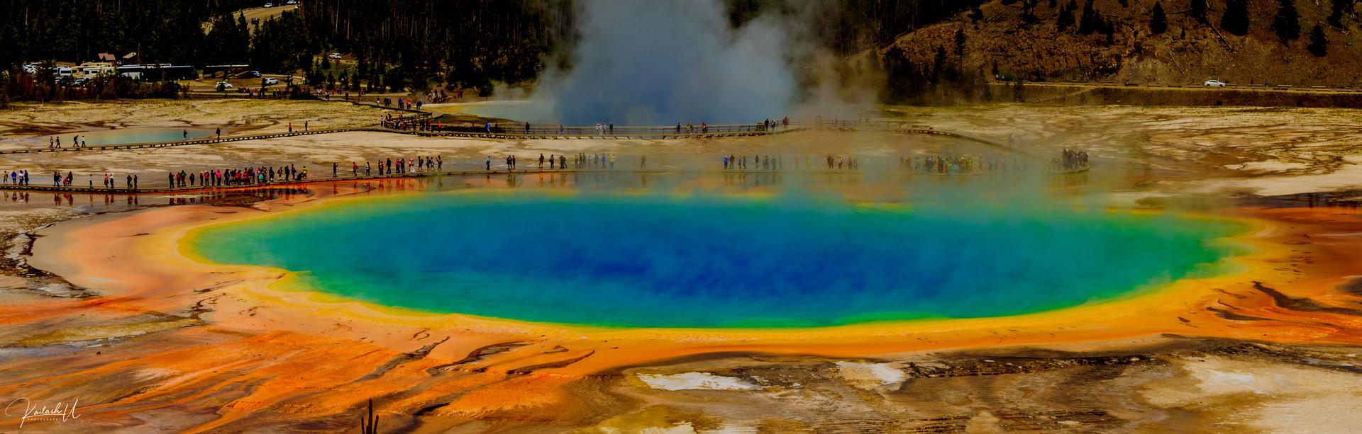 The Grand Prismatic, Yellowstone