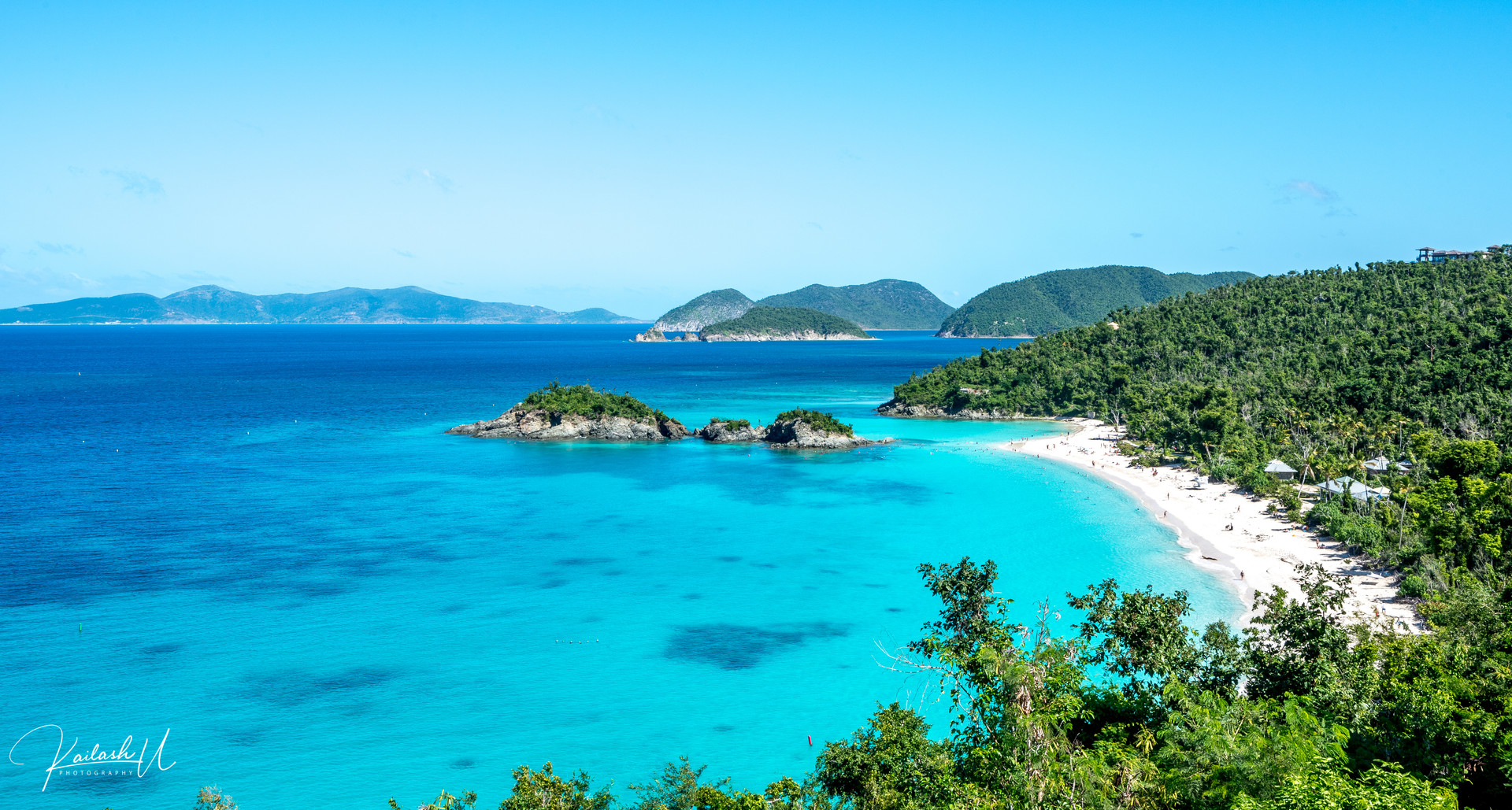 Trunk Bay, St. John, The Virgin Islands of the United States