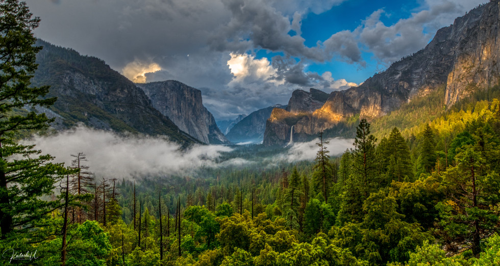Tunnel View, Yosemite Valley