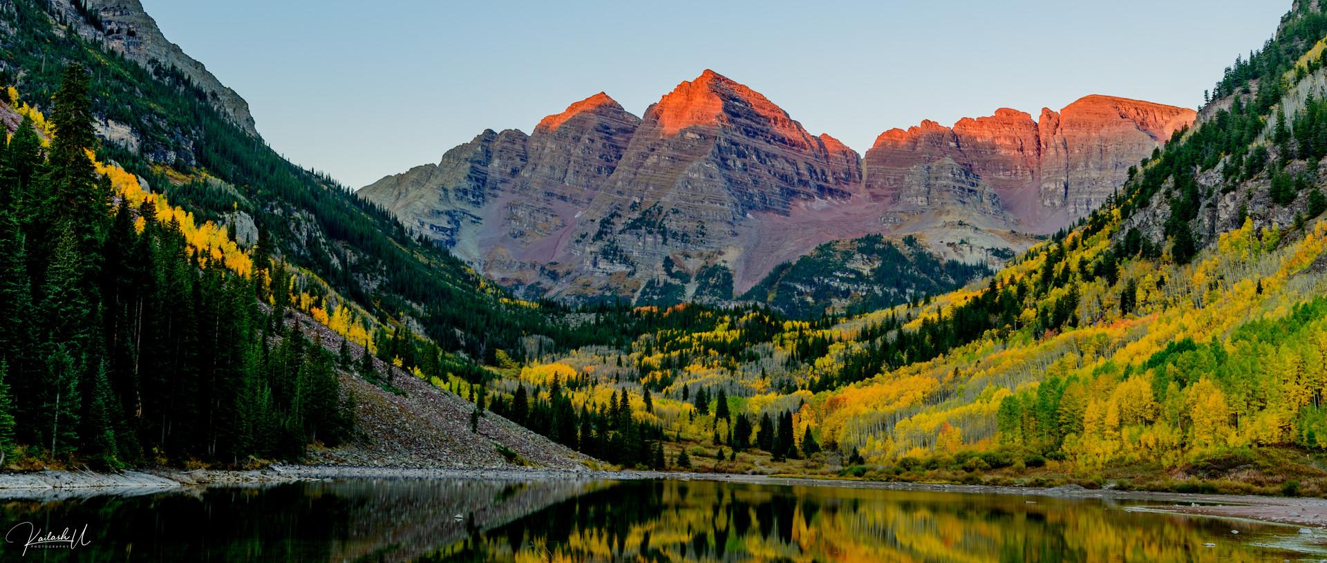 The Iconic Maroon Bells, Aspen