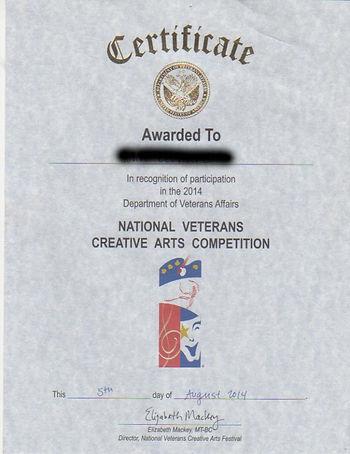 Wayne & John-Just A Cowboy VA NCAF Certi