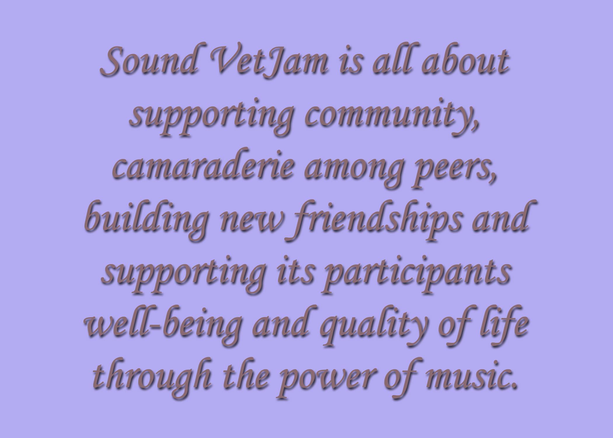 Sound VetJam-Slate 3